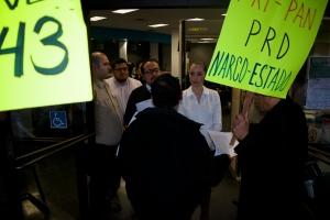 Narco Estado Fresno Protest for Ayotzinapa Missing 43