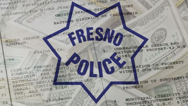 Fresno Police Steal $100,000