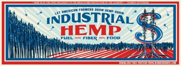 let american farmers grow hemp red&blue